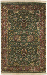 Surya Taj Mahal Tj-837 Green / Red Area Rug