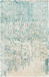 Surya Watercolor WAT-5004 Green Blue Area Rug