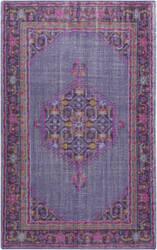 Custom Surya Zahra ZHA-4001 Pink - Violet purple Area Rug