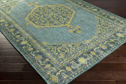 Custom Surya Zahra ZHA-4027 Blue - Green Area Rug