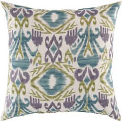 Surya Pillows ZZ-420 Teal/Olive