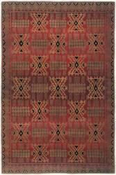 Tibet Rug Company 60 Knot Premium Tibetan Inca Red Area Rug