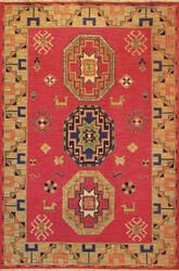 Tibet Rug Company Soumak Kazak Design 4 Area Rug