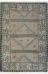 Tibet Rug Company 60 Knot Premium Tibetan Sundial Khaki Area Rug