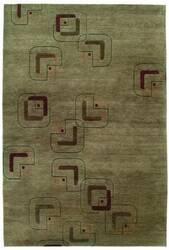 Tibet Rug Company 80 Knot Premium Tibetan Neo Beige Area Rug