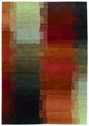 Tibet Rug Company 100 Knot Premium Tibetan Reflections Red Area Rug