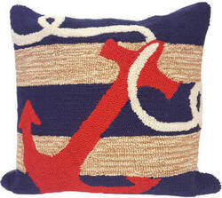 Trans-Ocean Frontporch Pillow Anchor 1400/33 Navy