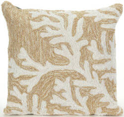 Trans-Ocean Frontporch Pillow Coral 1620/12 Neutral