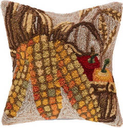 Trans-Ocean Frontporch Pillow Corn 4396/12 Natural