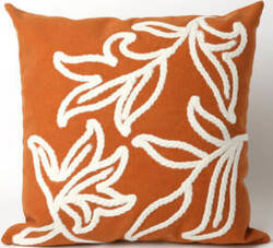 Trans-Ocean Visions I Pillow Windsor 3076/17 Orange Area Rug