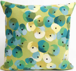 Trans-Ocean Visions Ii Pillow Pansy 4138/06 Lime Area Rug