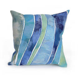 Trans-Ocean Visions Iii Pillow Waves 312604 Ocean