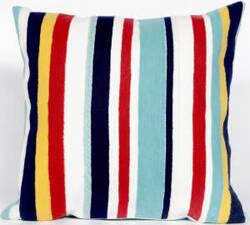 Trans-Ocean Visions Iii Pillow Riviera Stripe 4187/44 Multi Area Rug