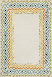 Trans-Ocean Capri Ethnic Border 1607/12 Pastel Area Rug