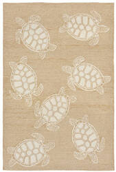 Trans-Ocean Capri Turtle 1634/12 Neutral Area Rug