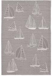 Trans-Ocean Capri Sails 1673/47 Grey Area Rug
