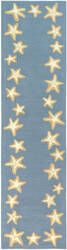 Trans-Ocean Capri Starfish Border 1710/03 Blue Area Rug