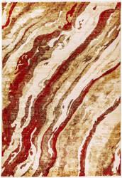 Trans-Ocean Calais Dunes 6078/24 Red Area Rug