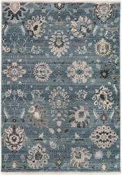 Trans-Ocean Calais Vintage Floral 6079/33 Blue Area Rug