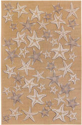 Trans-Ocean Carmel Starfish 8415/12 Natural Area Rug