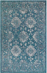 Trans-Ocean Carmel Vintage Floral 8418/94 Blue Area Rug