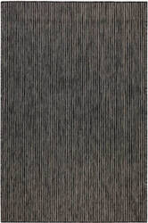 Trans-Ocean Carmel Texture Stripe 8422/48 Black Area Rug