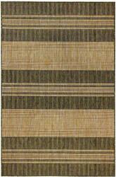 Trans-Ocean Carmel Stripe 8435/06 Green Area Rug