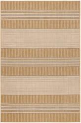 Trans-Ocean Carmel Stripe 8435/12 Khaki Area Rug