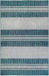 Trans-Ocean Carmel Stripe 8435/94 Blue Area Rug