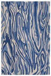 Trans-Ocean Lalunita Marble 6025/33 Navy Area Rug