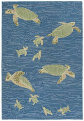 Trans-Ocean Lalunita Seaturtles 6037/03 Water Area Rug
