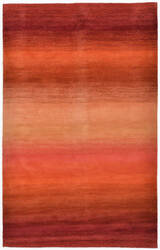 Trans-Ocean Ombre Stripes 9620/18 Sunrise Area Rug