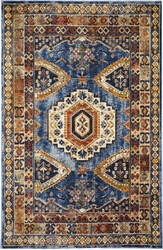 Trans-Ocean Palace Ardebil 8572/03 Blue Area Rug
