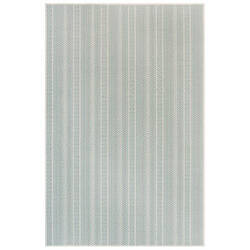 Trans-Ocean Plymouth Texture Stripe 6003/04 Blue Area Rug