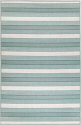 Trans-Ocean Riviera Stripe 7640/06 Green Area Rug