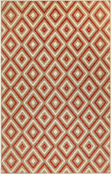 Trans-Ocean Riviera Nested Diamond 7641/24 Red Area Rug