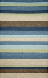Trans-Ocean Ravella Stripe 1900/33 Denim Area Rug
