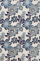 Trans-Ocean Ravella Floral 2180/03 Blue Area Rug