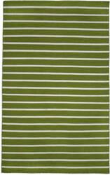Trans-Ocean Sorrento Pinstripe 6305/06 Green Area Rug