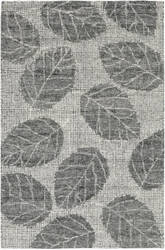 Trans-Ocean Savannah Leaf 9502/19 Flannel Area Rug