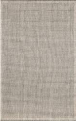 Trans-Ocean Terrace Texture 1762/58 Silver Area Rug