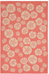 Trans-Ocean Terrace Shell Toss 1790/27 Coral Area Rug