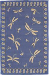 Trans-Ocean Terrace Dragonfly 1791/33 Marine Area Rug