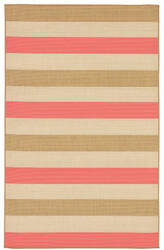 Trans-Ocean Terrace Multi Stripe 2762/74 Sunset Area Rug