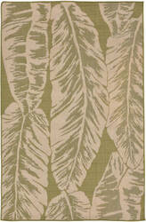 Trans-Ocean Terrace Banana Leaf 2770/66 Meadow Area Rug