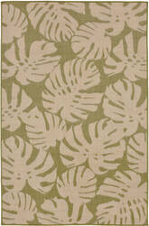 Trans-Ocean Terrace Fronds 2774/56 Meadow Area Rug