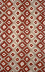 Trans-Ocean Visions Ii Ikat Diamonds 3095/24 Red Area Rug