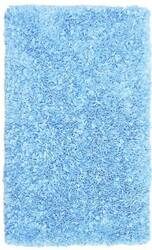 The Rug Market America Kids Shaggy Raggy  02203 Light Blue Area Rug