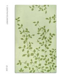 The Rug Market America Resort Ivy-ivory 25228 Ivory/green Area Rug