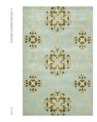 The Rug Market America Rexford Beacon Hill Teal 44259 Teal/brown/yellow Area Rug